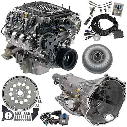 Chevrolet Performance LT4 376ci 6 2L Connect & Cruise Powertrain System