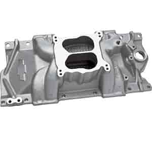 Chevrolet Performance 24502592 - Chevrolet Performance Small Block Chevy Carbureted Intake Manifolds