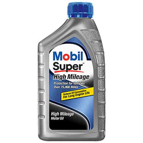 Chevy 88863351 Mobil Super High Mileage Motor Oil 5w 30