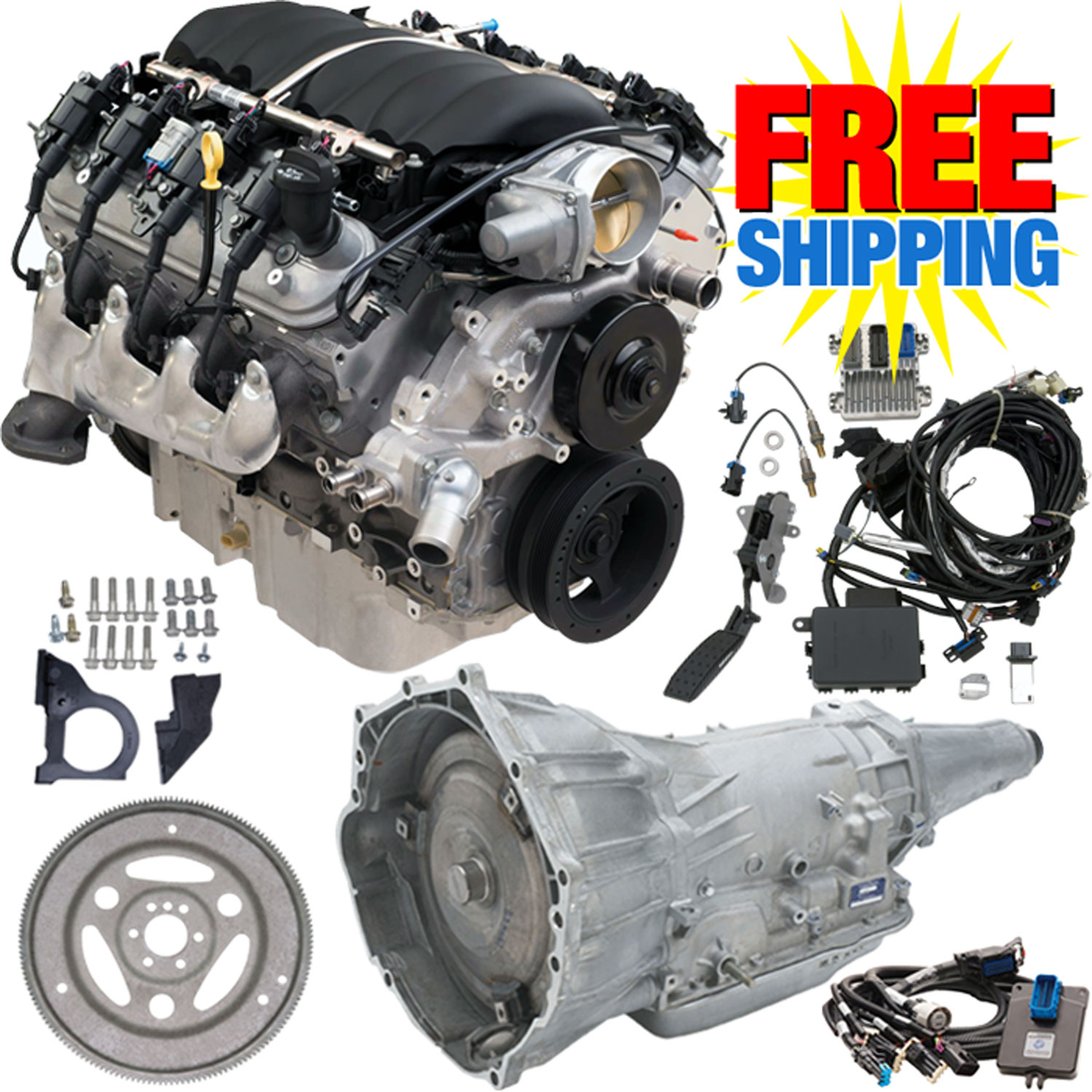 Chevy Cpsls34l65e Ls3 Connect Cruise Package Jegs Truck Clutch Linkage Diagram Car Tuning Chevrolet Performance