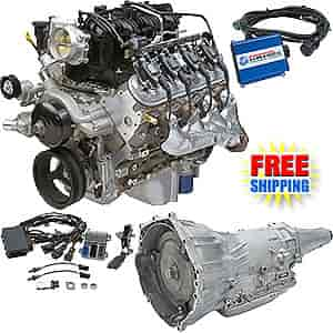 Chevrolet Performance CPSLC94L65E - Chevrolet Performance LC9 5.3L / 326HP Connect & Cruise Powertrain System