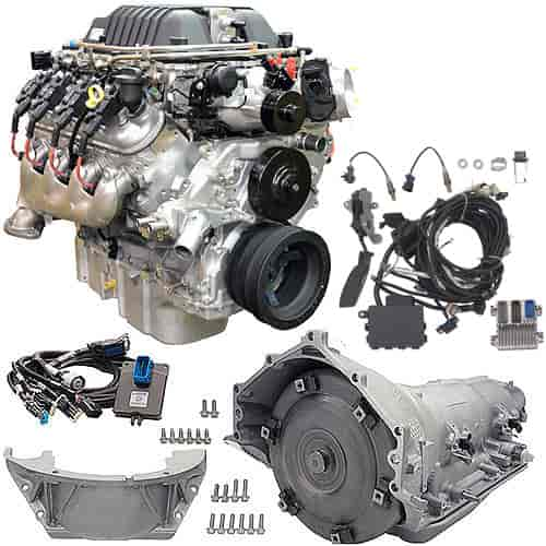 Chevrolet Performance LSA Supercharged 6 2L Connect & Cruise Powertrain  System 4L85-E Trans