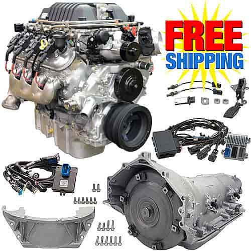 Chevrolet Performance CPSLSA4L85E - Chevrolet Performance LSA 6.2L/556HP CTS-V Supercharged Crate Powertrain