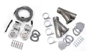 Race Ready EC300DK - Race Ready Performance Electric Exhaust Cutout Kits