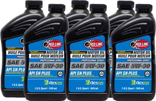 What Is Dexos Oil >> Red Line Oil Professional Series Full Synthetic Dexos Approved Motor Oil 5w 30 6 Quarts