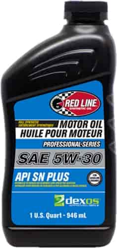What Is Dexos Oil >> Red Line Oil Professional Series Full Synthetic Dexos Approved Motor Oil 5w 30