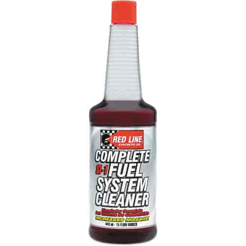 Red Line Oil SI-1 Complete Fuel System Cleaner 15 ounce