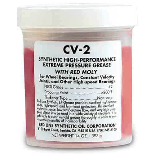 Red Line Oil 80401 - Red Line Synthetic CV-2 Grease