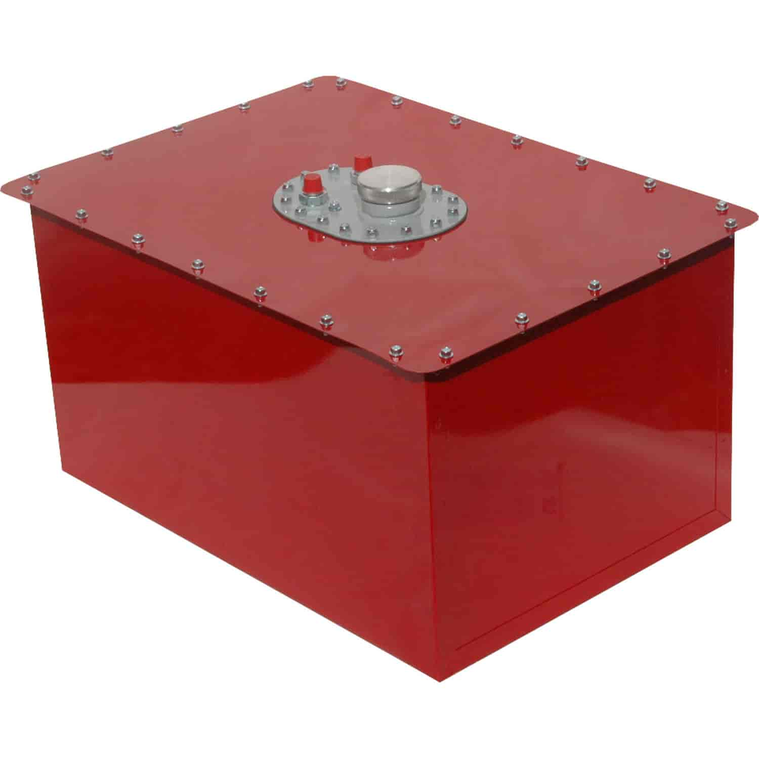 Rci 1222c Red Circle Track Fuel Cell Capacity 22 Gallons