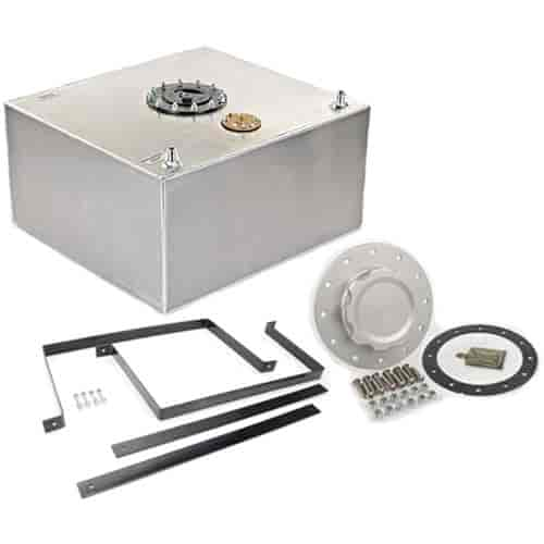 RCI 15-Gallon Aluminum Fuel Cell with Installation Kit Includes Fuel Cell,  Filler Cap & Mounting Brackets