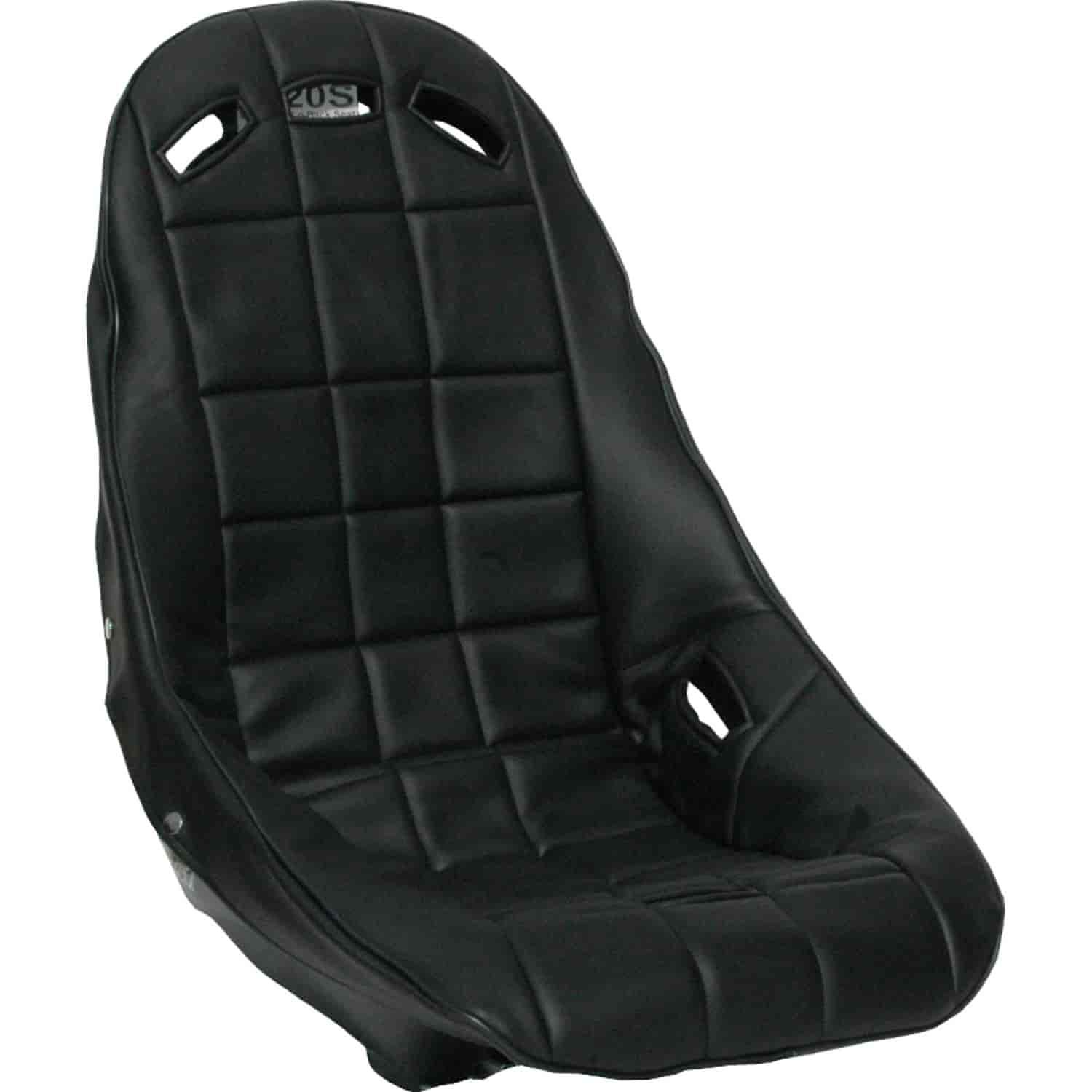 Vinyl Seat Cover Solid Black RCI 8021S