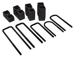 Skyjacker BUK3588 - Skyjacker Blocks & U-Bolt Kits