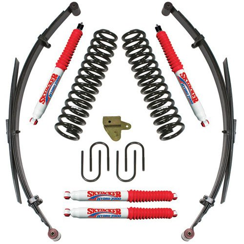 Skyjacker JC315BKSH - Skyjacker Jeep Cherokee XJ Sport Series Lift Kits