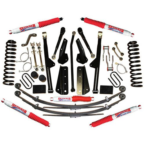 Skyjacker JC605BKSH - Skyjacker Jeep Cherokee XJ Sport Series Lift Kits