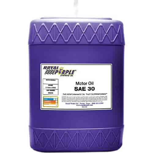 Royal Purple 05030 Synthetic Motor Oil Straight 30w 5