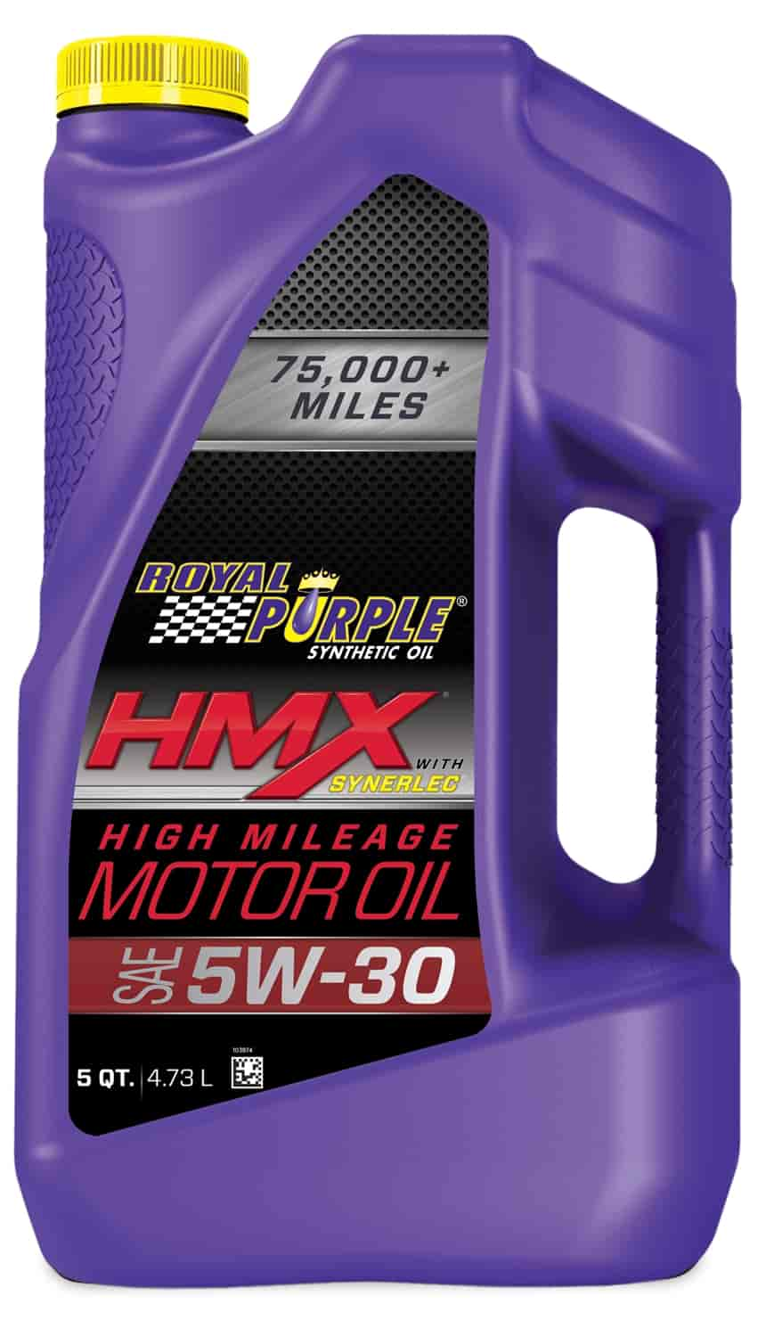 royal purple 11748 hmx high mileage synthetic motor oil 5w30. Black Bedroom Furniture Sets. Home Design Ideas