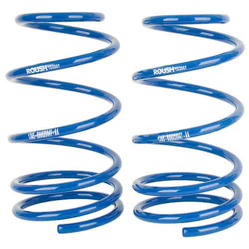Roush Performance 401294 - Roush Performance Coil Springs 2005-14 Mustang