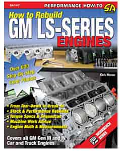 SA Design SA147 - SA Design Books: How to Rebuild GM LS-Series Engines