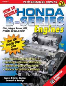 SA Design SA154 - SA Design Books: How to Rebuild Honda B-Series Engines