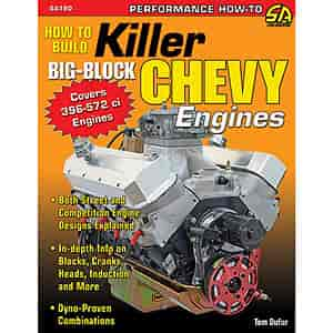 SA Design SA190 - SA Design Books: How to Build Killer Big-Block Chevy Engines