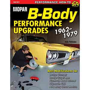 SA Design SA191 - SA Design Books: Mopar B-Body Performance Upgrades 1962-1979