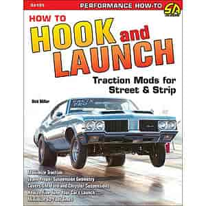 SA Design SA195 - SA Design Books: How to Hook and Launch: Traction Mods for Street & Strip