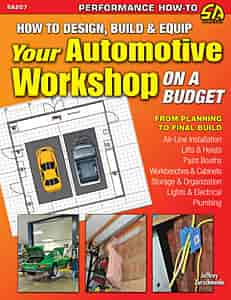 SA Design SA207 - SA Design Books: How To Design, Build and Equip Your Automotive Workshop