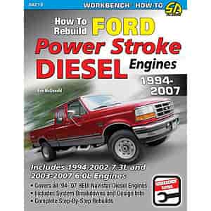 SA Design SA213 - SA Design Books: How to Rebuild Ford Power Stroke Diesel Engines 1994-2007