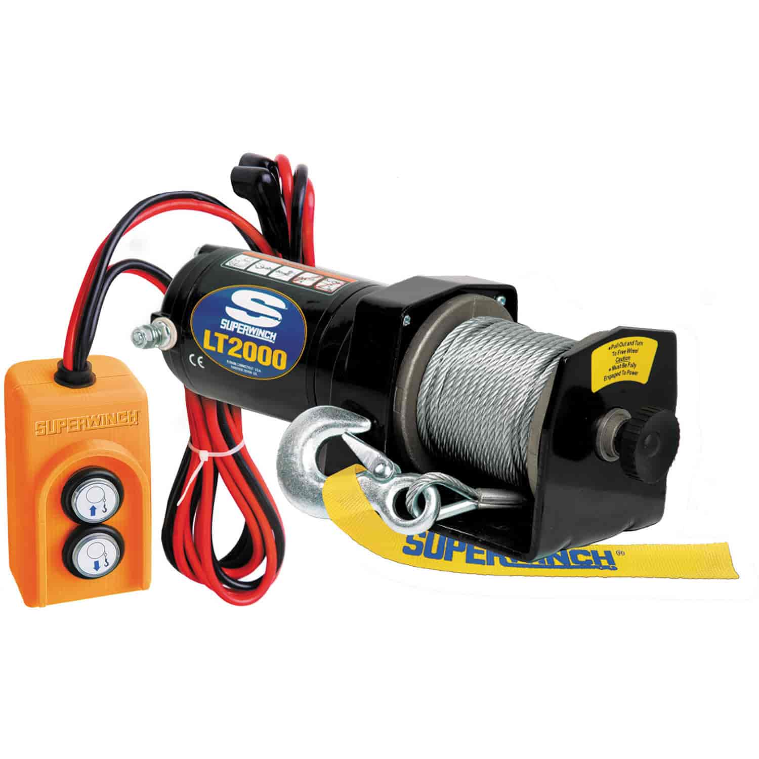 Superwinch 1220210  Lt2000 Utility Winch