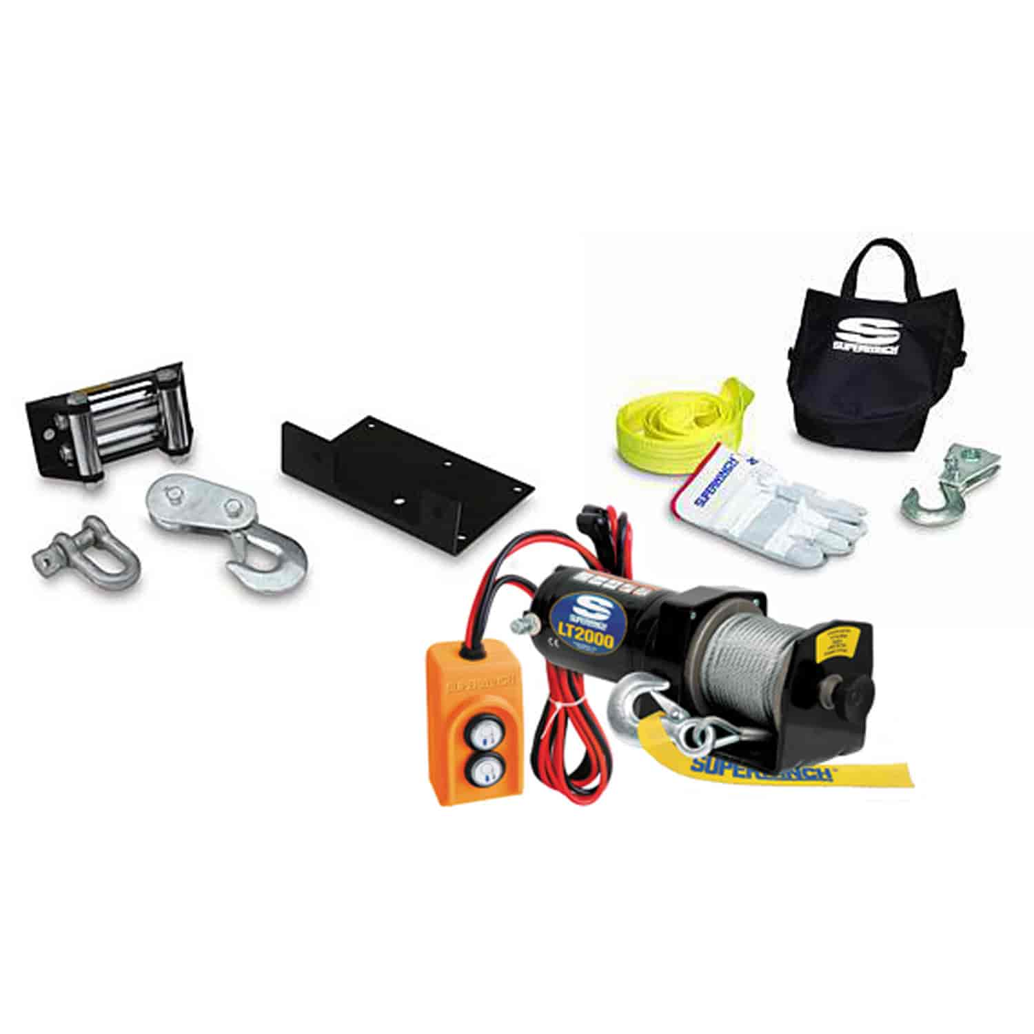 Superwinch 1220210K2 - Superwinch LT2000 Winch