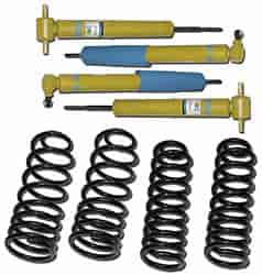 SLP 70002 - SLP Camaro/Firebird Shock and Spring Kit