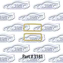 SoffSeal 3181 - SoffSeal Tail Light & Marker Light Seals/Gaskets
