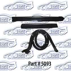 SoffSeal 5093 - SoffSeal Weatherstrip Kits For Convertible Tops