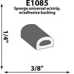 SoffSeal SRE108515 - SoffSeal Door Weatherstripping/Seals