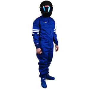 Simpson 0404411 - Simpson Classic 3-Stripe SFI-5 One-Piece Driving Suits