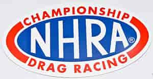 Main Gate NDC02-2 - NHRA Oval Decals