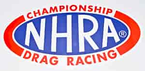Main Gate NDC02-4 - NHRA Oval Decals