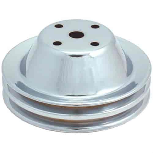 Spectre Performance 4495 Chrome Triple Belt Crankshaft Pulley for Ford 289
