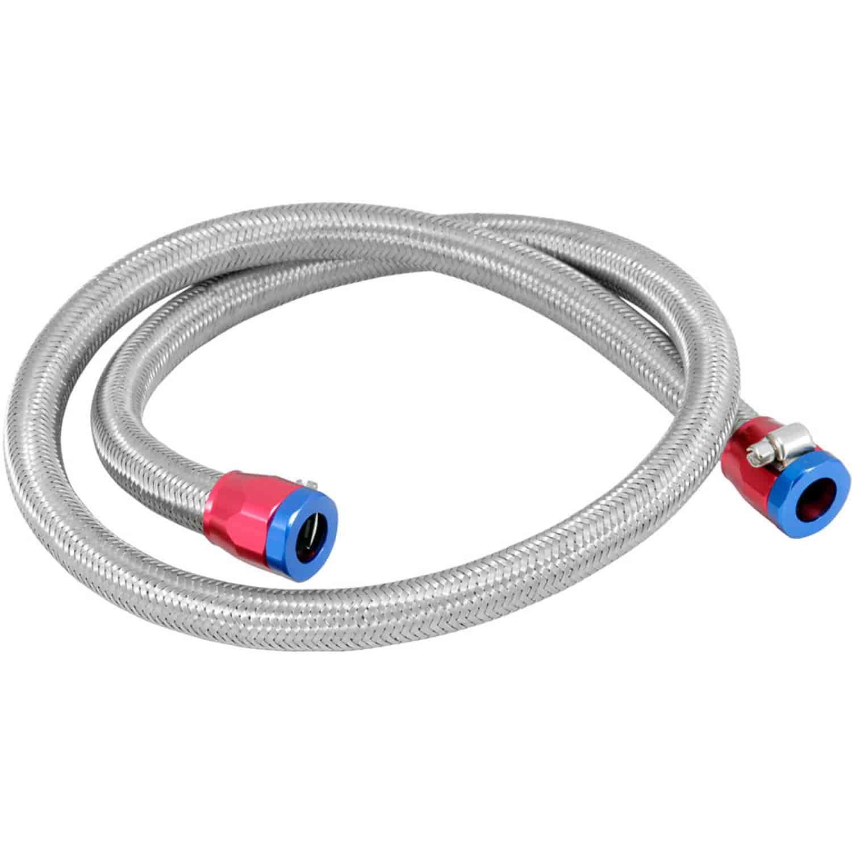 Spectre 29490: Steel-Flex Fuel Line 3/8\