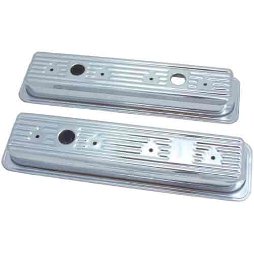 Spectre 5260 - Spectre Triple Chrome-Plated Valve Covers