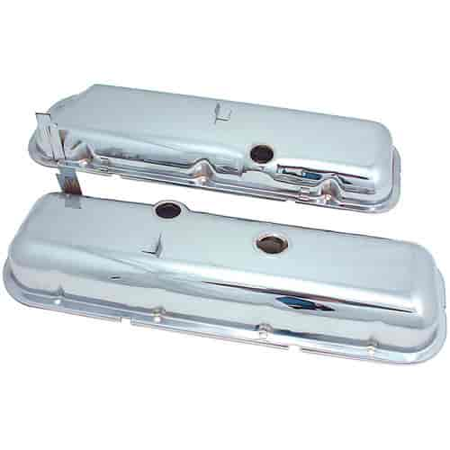 Spectre 5262 - Spectre Triple Chrome-Plated Valve Covers