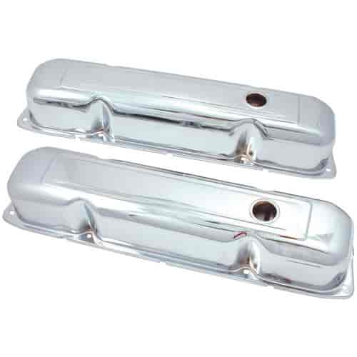Spectre 5277 - Spectre Triple Chrome-Plated Valve Covers