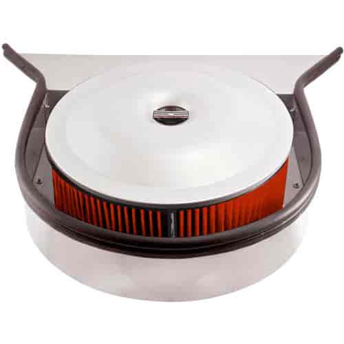 Air Cleaner Through Hood : Spectre tray style cowl hood air cleaner quot