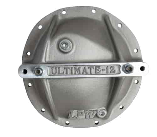 Aluminum Ultra Support Cover GM 12-Bolt STRANGE R5206