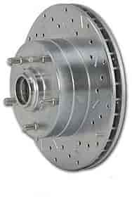 Stainless Steel Brakes 23565AA3R - Stainless Steel Brakes Big Bite Drilled & Slotted Rotors