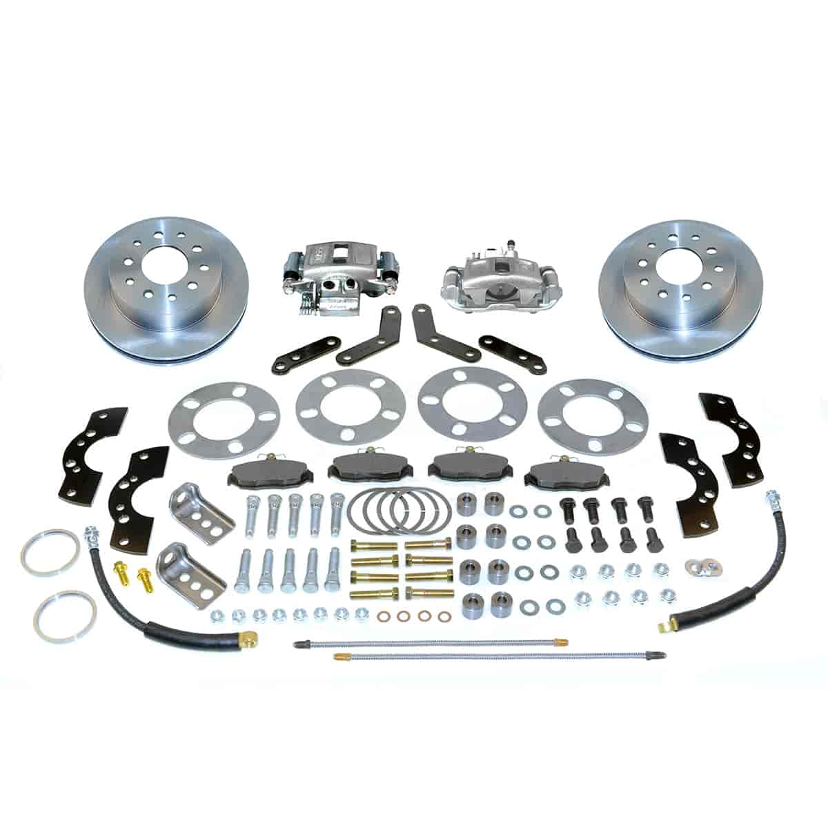Stainless Steel Brakes A110-2 - Stainless Steel Brakes Single Piston Rear Disc Brake Conversion Kit