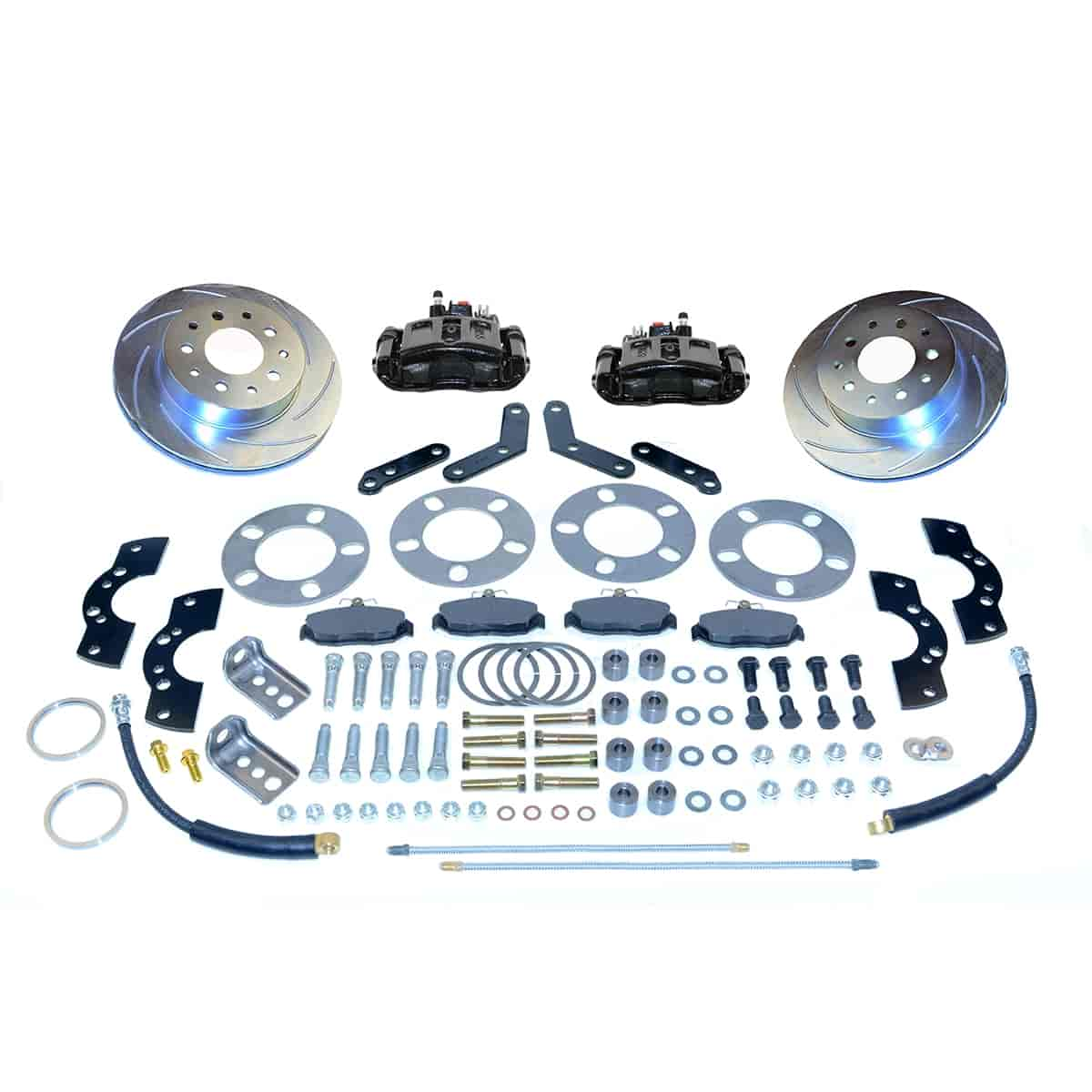 Stainless Steel Brakes A110-2BK - Stainless Steel Brakes Single Piston Rear Disc Brake Conversion Kit