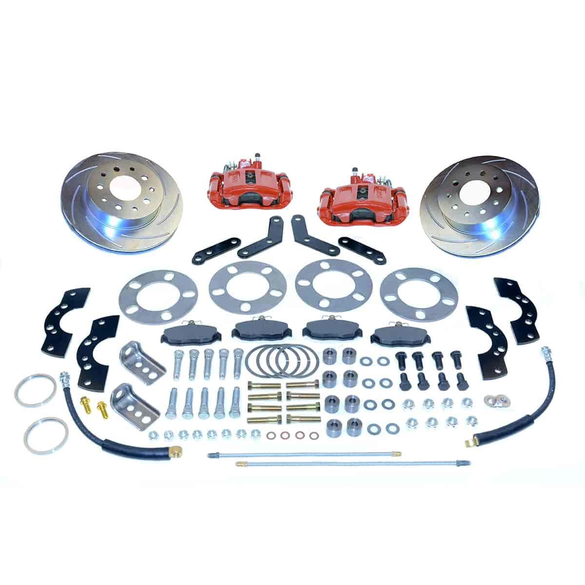 Stainless Steel Brakes A110-2R - Stainless Steel Brakes Single Piston Rear Disc Brake Conversion Kit