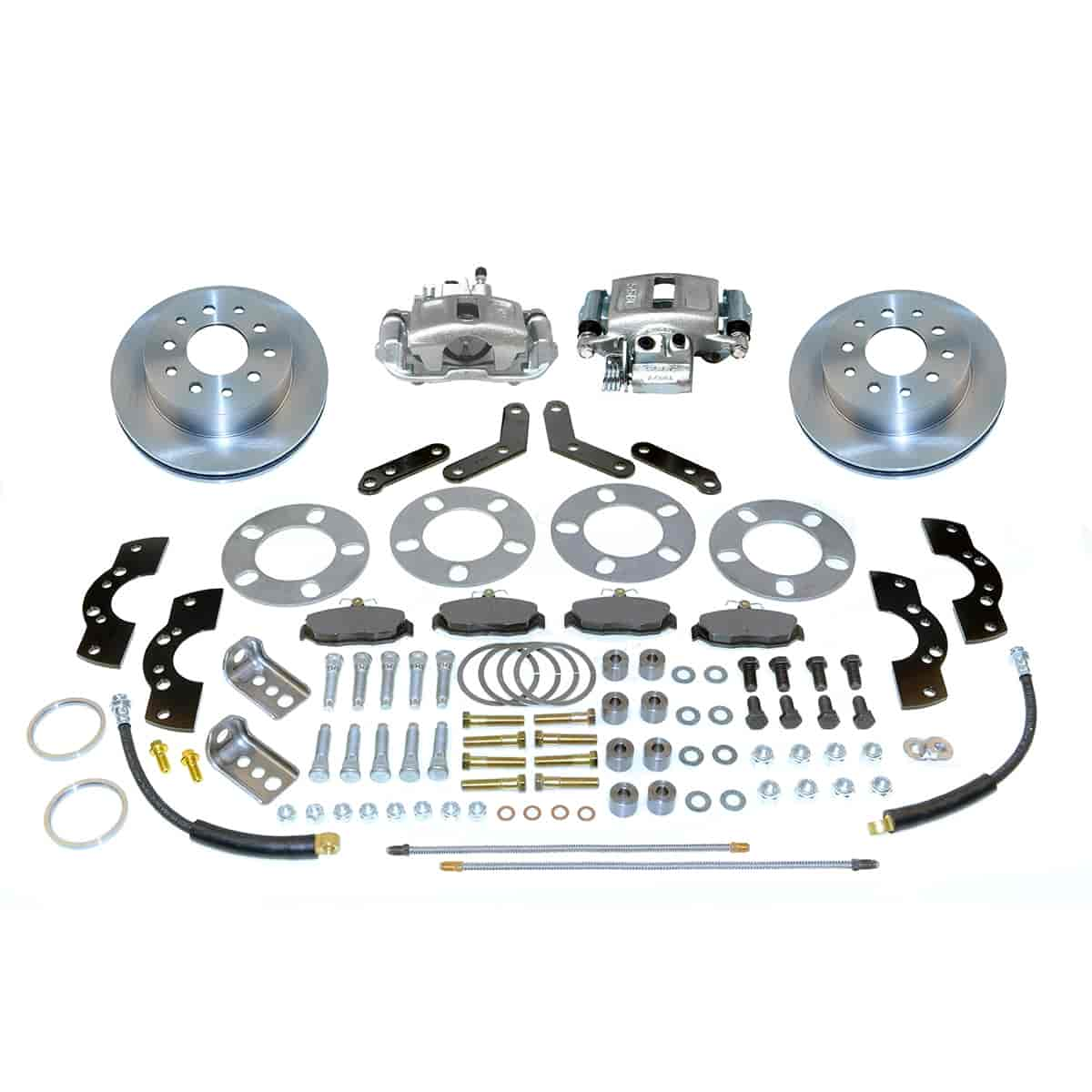 Stainless Steel Brakes A111-2 - Stainless Steel Brakes Single Piston Rear Disc Brake Conversion Kit