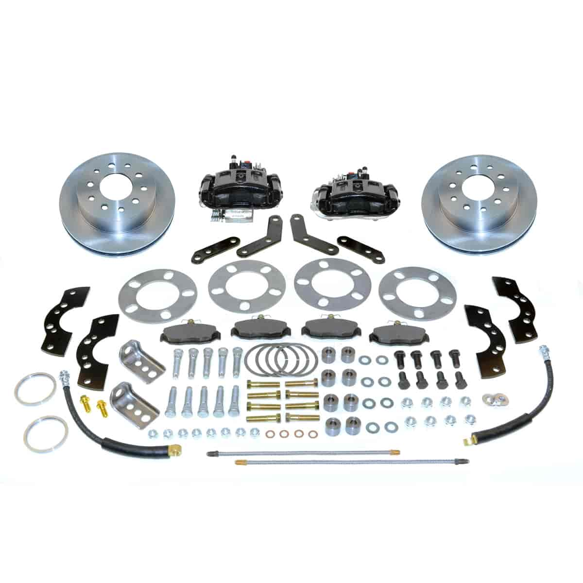 SSBC A111-2BK - Stainless Steel Brakes Single Piston Rear Disc Brake Conversion Kit